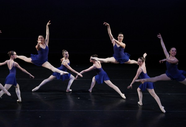 Columbia Ballet Collaborative dancers performing